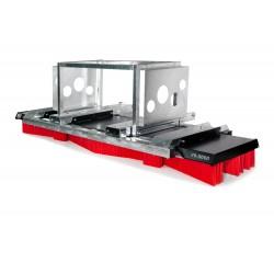 Kehrbesen V-Concept V9-3000 Kombiaufnahme Euro-Schnellwechsler/Gabel