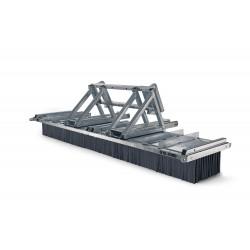 Kehrbesen G-Concept G12-3600 Kombiaufnahme Euro-Schnellwechsler/Gabel