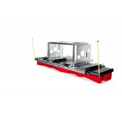 Kehrbesen V-Concept V13-4800 Kombiaufnahme Ballen-Klammer/Gabel
