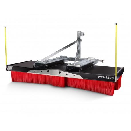 Kehrbesen V-Concept V13-1500 Kombiaufnahme 3-Punkt/Gabel