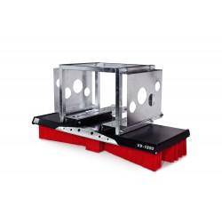 Kehrbesen V-Concept V9-1800 Kombiaufnahme Ballen-Klammer/Gabel